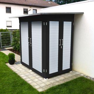 WEKA | Garten [Q]® Kompakt | 200x125 cm | Antraciet